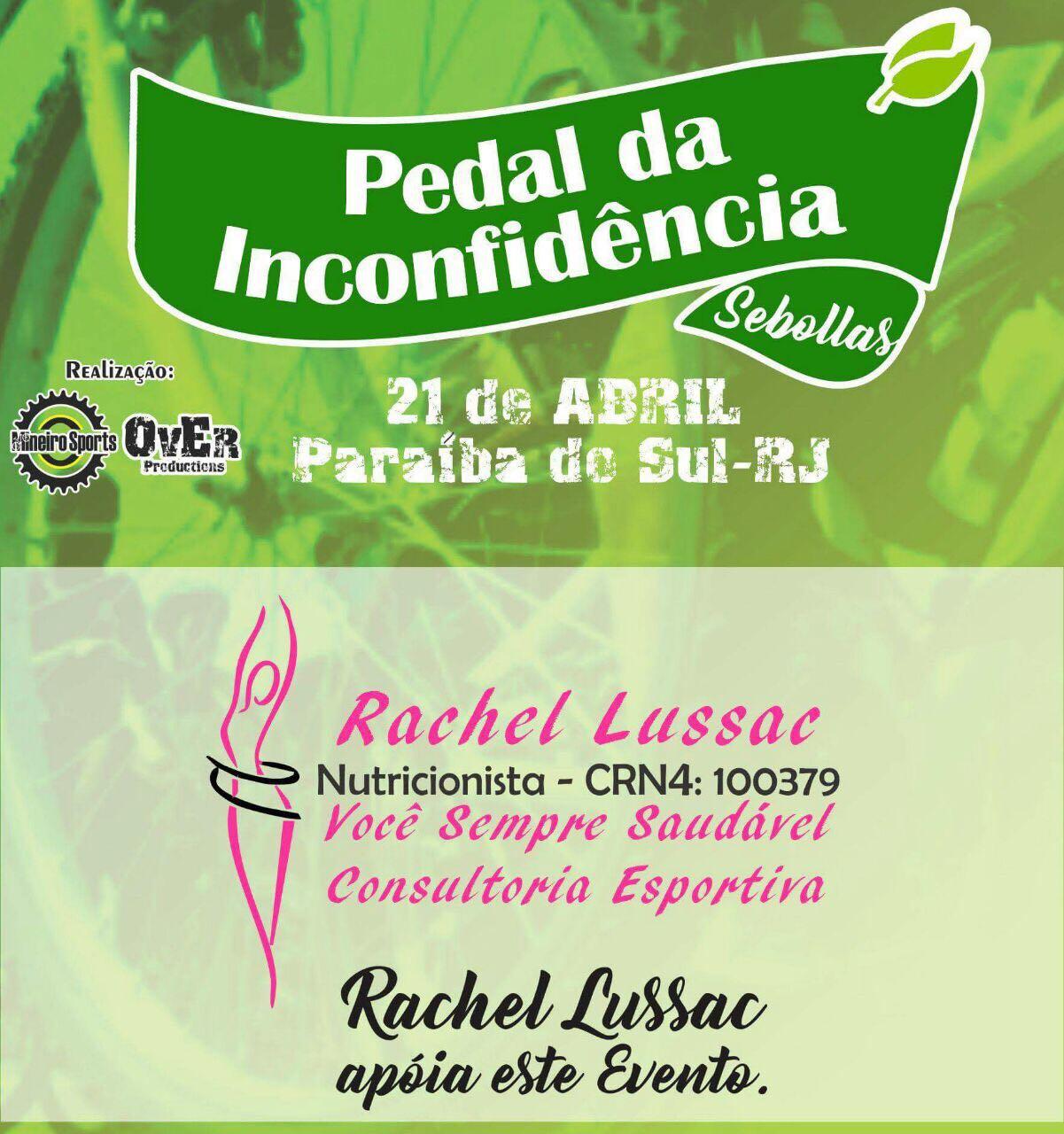 2017.04.21 - Patrocinadora no Evento de Bike - Pedal da Inconfidência - Paraíba do Sul