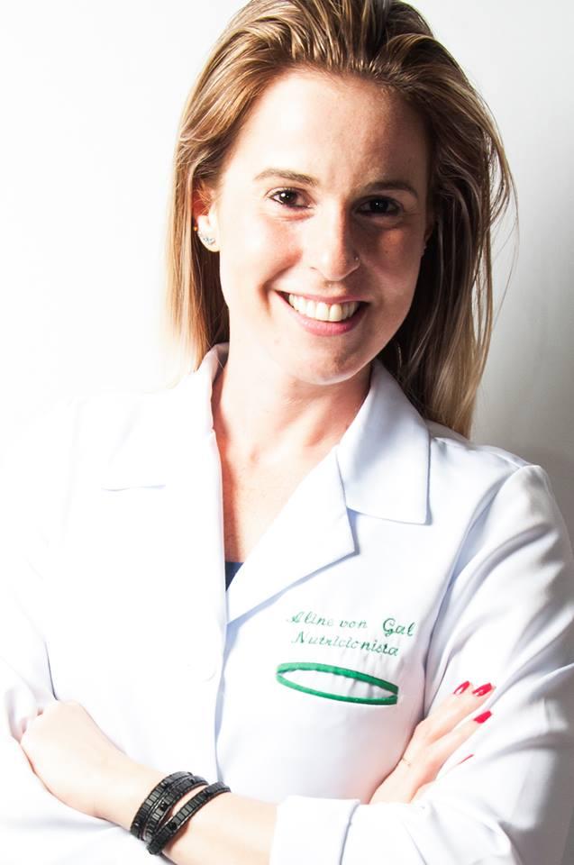 Nutricionista Aline von Gal
