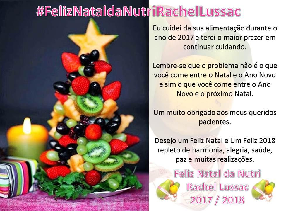 2017.12.08 - Feliz Natal da Nutri
