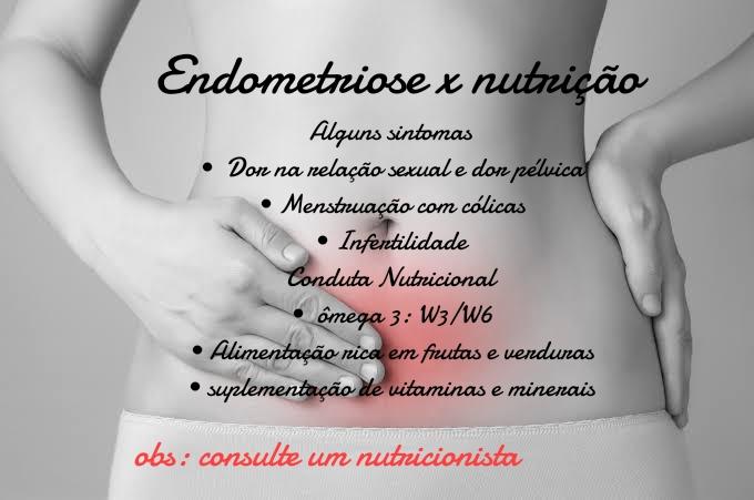 Endometriose x nutrição