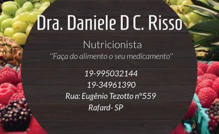 Logotipo DANIELE DE CASSIA RISSO
