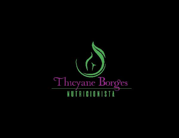 Logotipo Thicyane Borges pontes