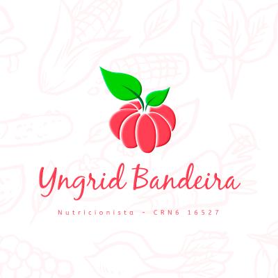Logotipo Yngrid Bandeira