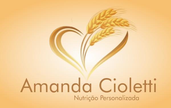Logotipo Amanda Cioletti Nutrição Personalizada