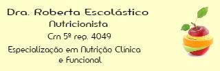 Logotipo Roberta Escolástico Nascimento Santos