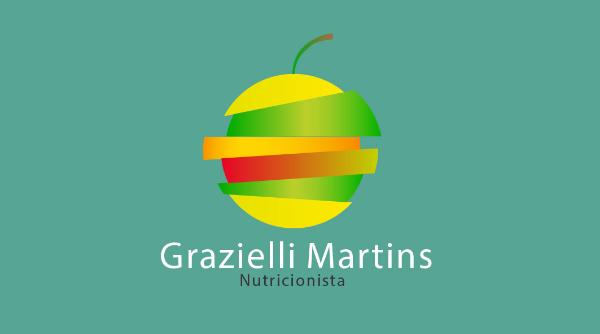 Logotipo Nutri Grazielli Martins