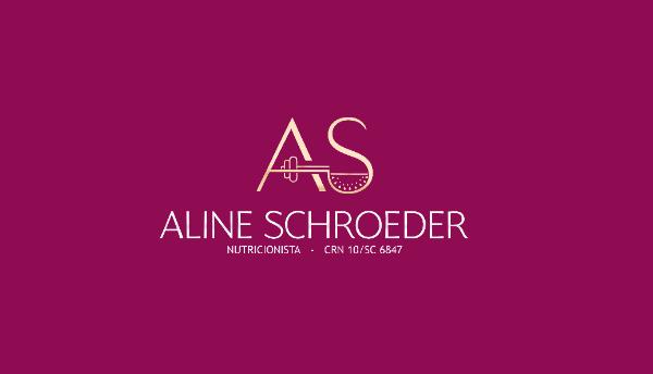 Logotipo Aline Schroeder